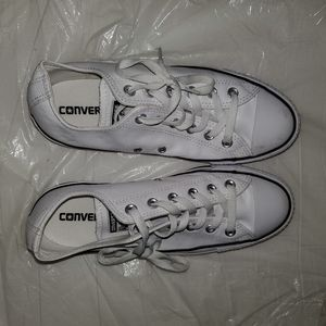 Converse All Stars leather white